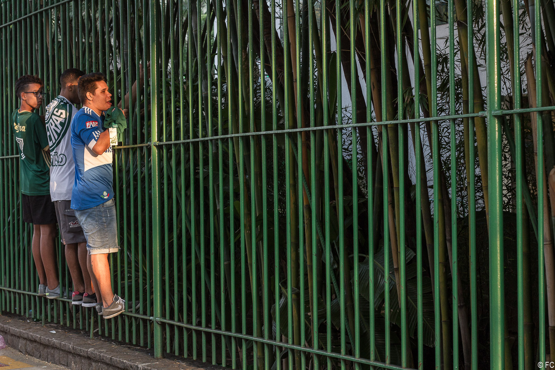 Fotos da torcida em Palmeiras x Corinthians