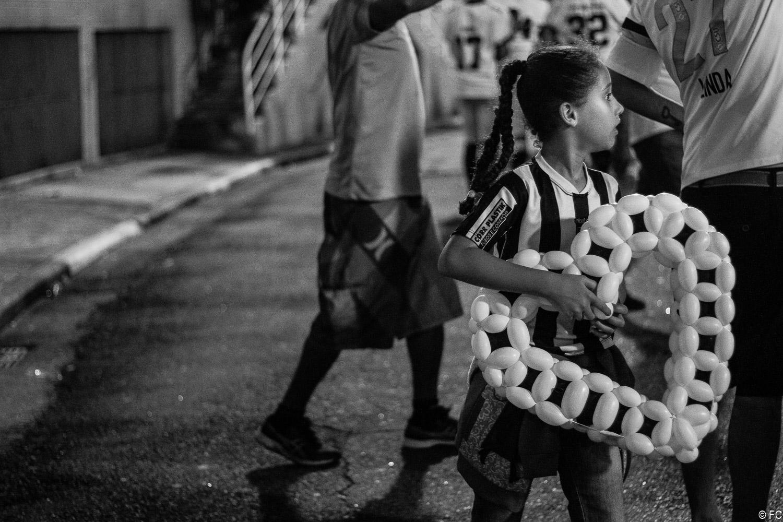 Fotos da torcida em Santos x Ceará