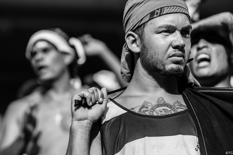 Fotos das torcidas em Palmeiras x Corinthians