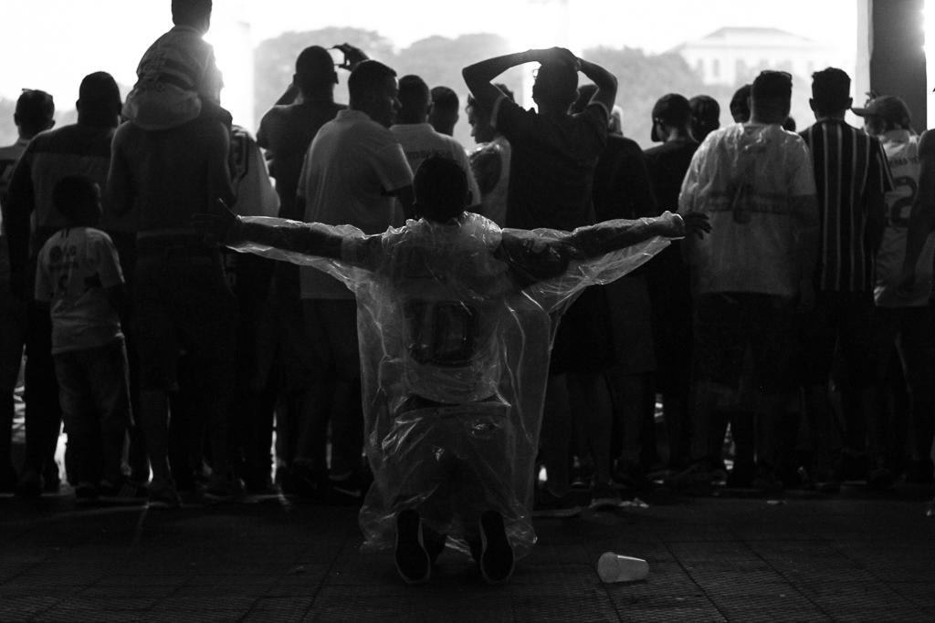 Fotos da torcida do Sao Paulo
