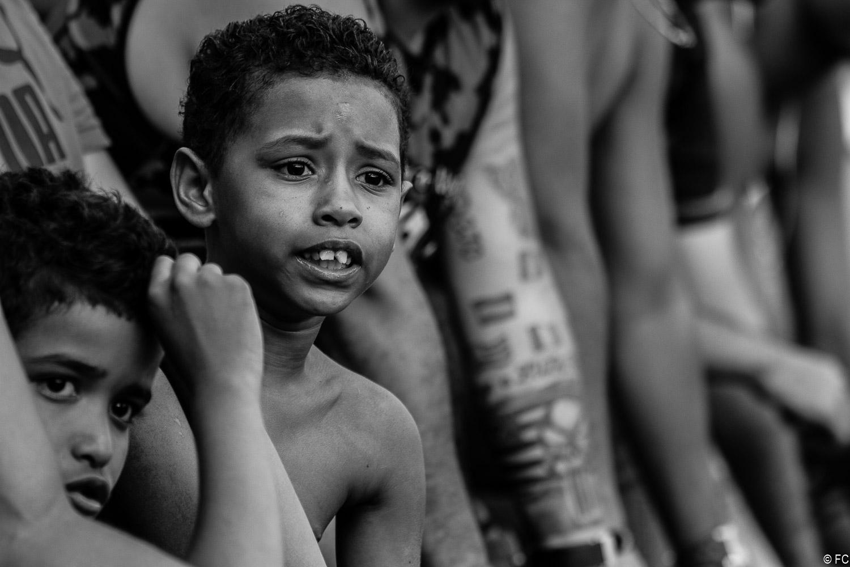 Fotos da torcida em São Caetano x Flamengo-SP
