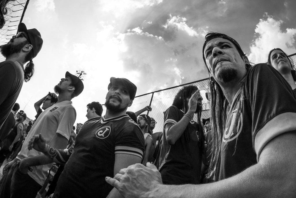 Fotos da torcida em Nacional x Juventus