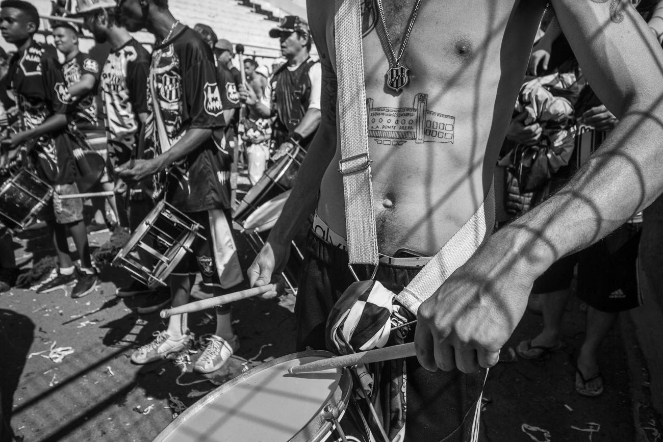 Fotos da torcida em Ponte Preta x Guarani