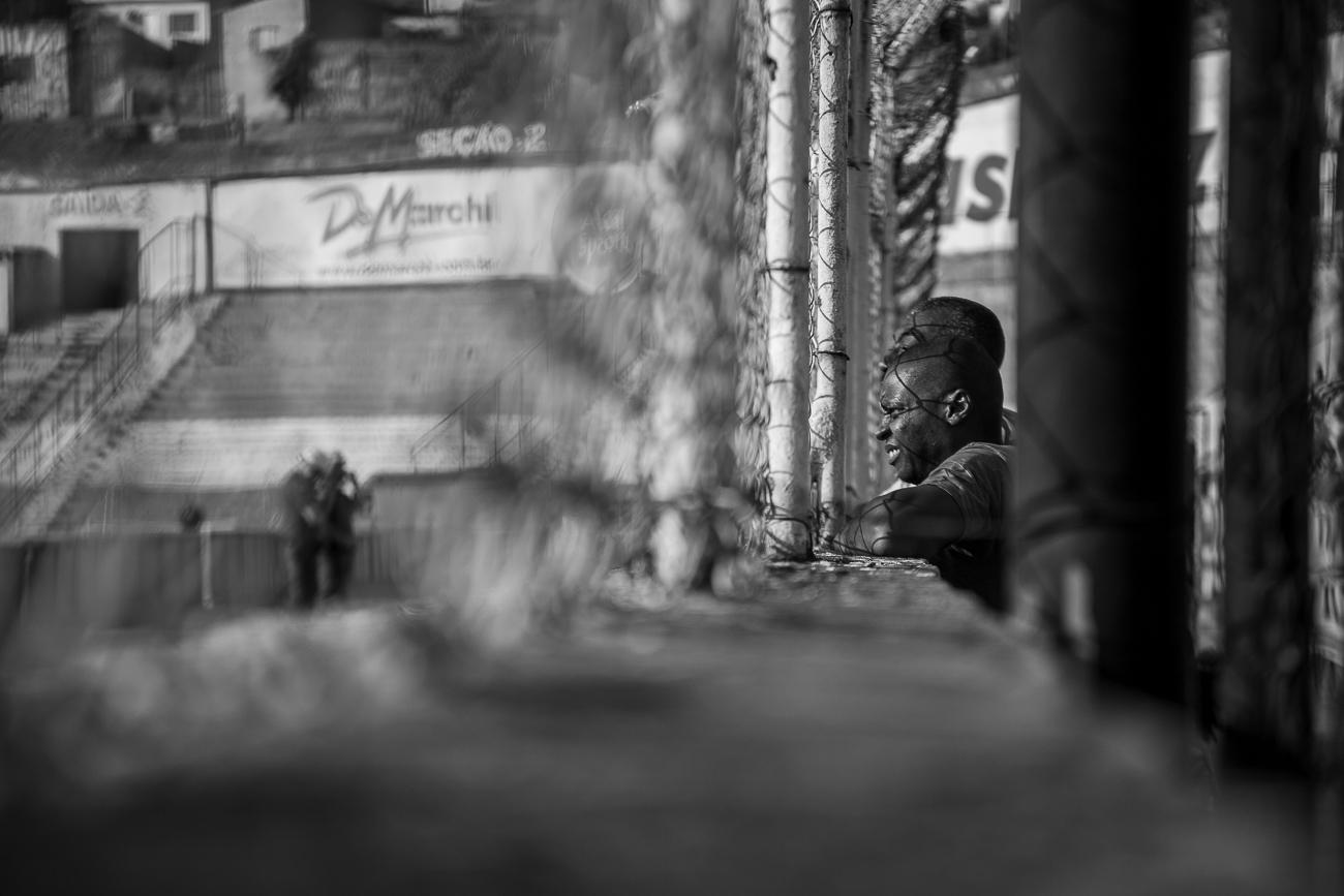 Fotos da torcida do Paulista