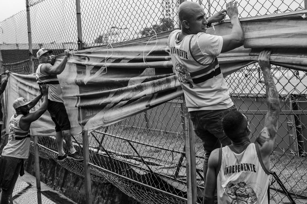 Fotos da torcida em São Paulo x Operário-PR
