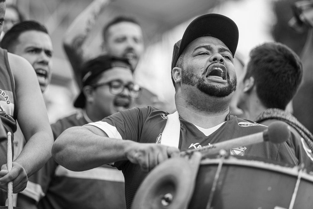 Fotos da torcida em Santo André x Red Bull Bragantino